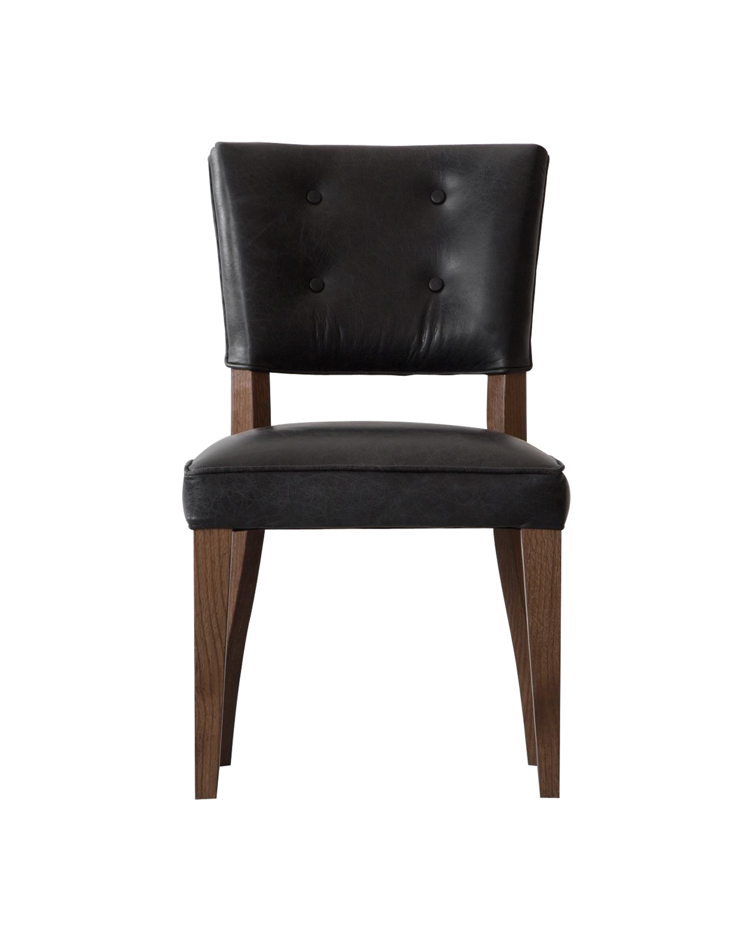 Prague Leather Dining Chair